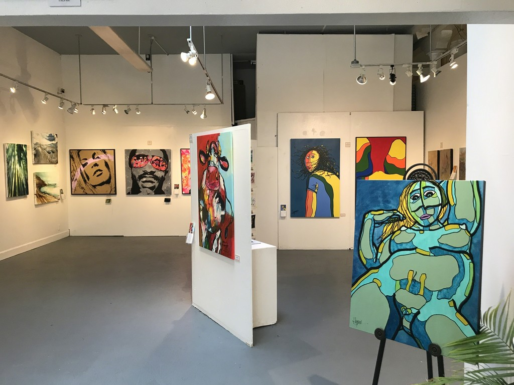 """Our first """"Taste of the World"""" Exhibition in San Francisco, featuring 10 hand-picked emerging artists, from 9 countries."""
