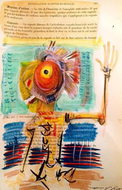 , 'Articulation Scapulo-Humerale 2 (Traité d'Anatomie Humaine),' 2015, SILAS VON MORISSE gallery