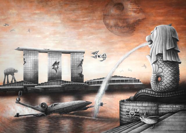 , 'Star Wars X Singapore,' 2017, Mazel Galerie