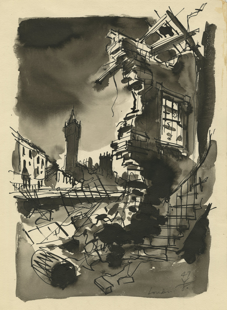 , 'London,' 1947, Childs Gallery