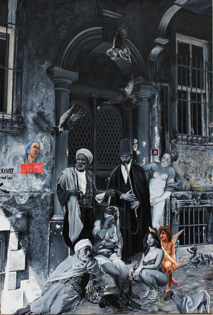 , 'Dün, Bugün, Yarın, 4...nefes...,' 2016, Anna Laudel
