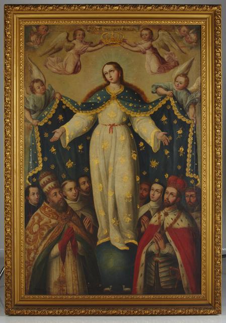 , 'Virgen del buen Auxilio,' ca. 1740, Diptych Fine Arts