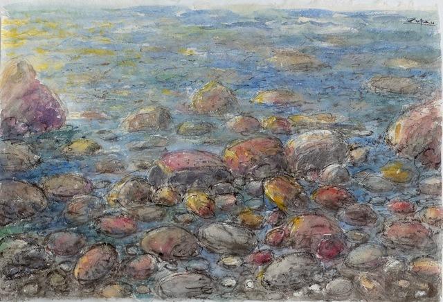 , 'Seashore,' 2018, Galerie d'Orsay