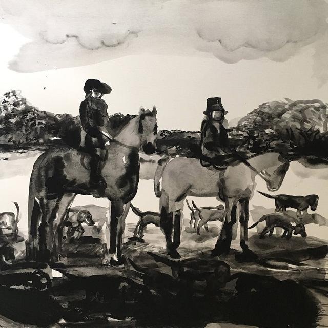 , 'Untitled Hunt Scene,' 2017, Sears-Peyton Gallery