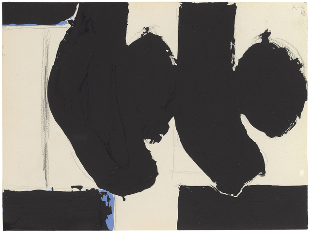 Robert Motherwell, 'Elegy to the Spanish Republic No. 110C', 1968, Bernard Jacobson Gallery