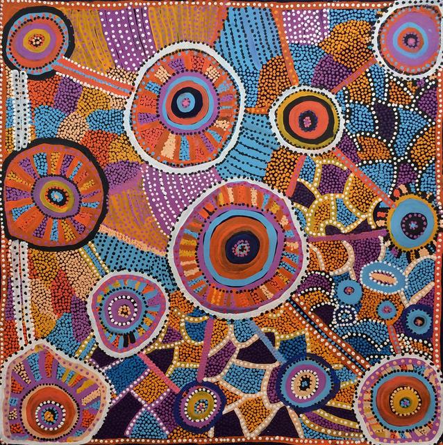 , 'Helen Nampijinpa Robertson: Water Dreaming (691/15ny),' 2015, Flinders Lane Gallery