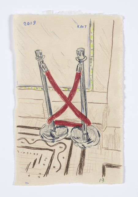 , 'Velvet Rope at Chicago Cultural Center,' 2019, Steve Turner