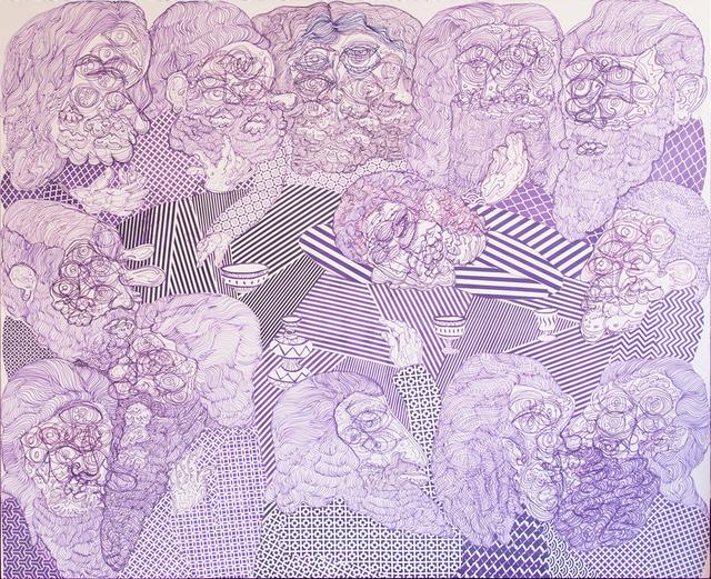 , 'Last Supper (Purple),' 2015, Kavi Gupta
