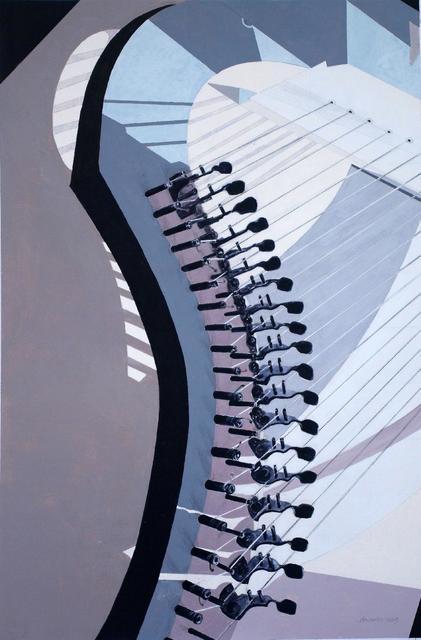 , 'Spinal Chord (Harp 1),' 2019, UK Artists