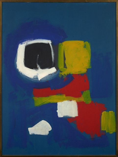 Frank Wimberley, 'Barbara's Painting', 1958, Berry Campbell Gallery