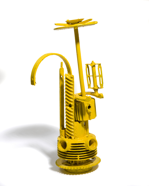 , 'Model of Observation Tower - Yellow,' 1966-1967, The Mayor Gallery