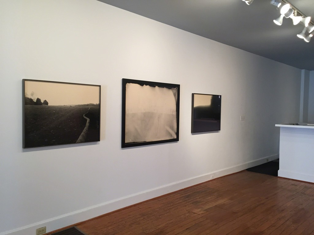 From left to right: Untitled (Virginia, Little Trailer), 1995; Untitled (Georgia), 1996; and Untitled (#21, Right Angle), 1993.