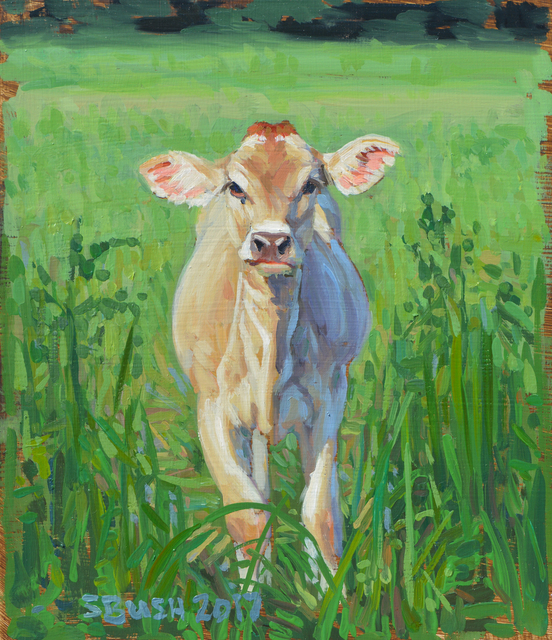 , 'Cow Study 21,' , West Branch Gallery