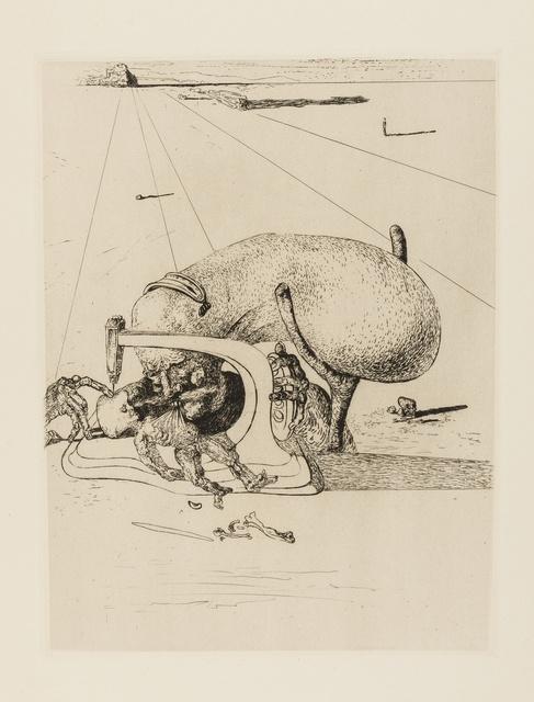 Salvador Dalí, 'Sewing Machine (Field 34-2; M&L 31b)', 1934, Forum Auctions