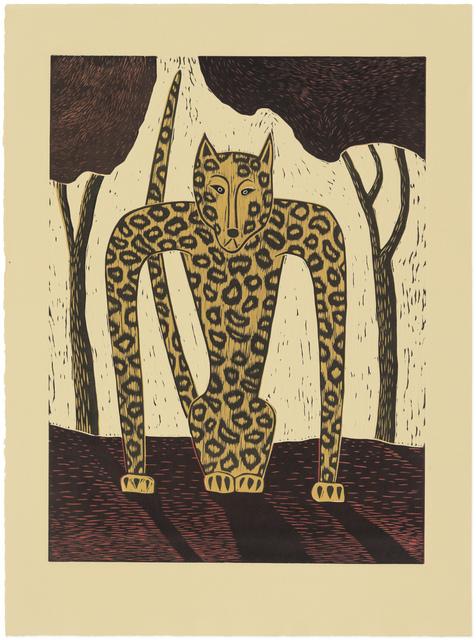 Judy Kensley McKie, 'Leopard', 1990, Gallery NAGA