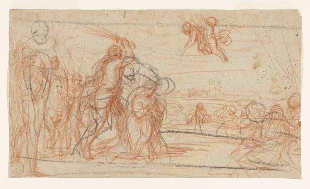 Andrea Sacchi, 'Martyrdom of a Saint', 17th century, Cooper Hewitt, Smithsonian Design Museum