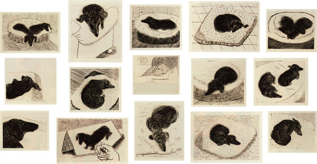 , 'Dog Wall (Set),' 1998, Sims Reed Gallery
