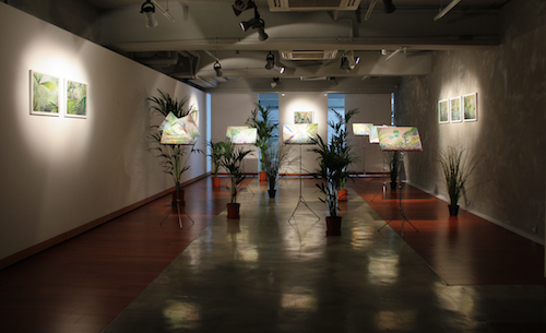 Valéry Grancher, Regression, Exhibition view, Mur Nomade, Hong Kong, 9May-30Jun2015