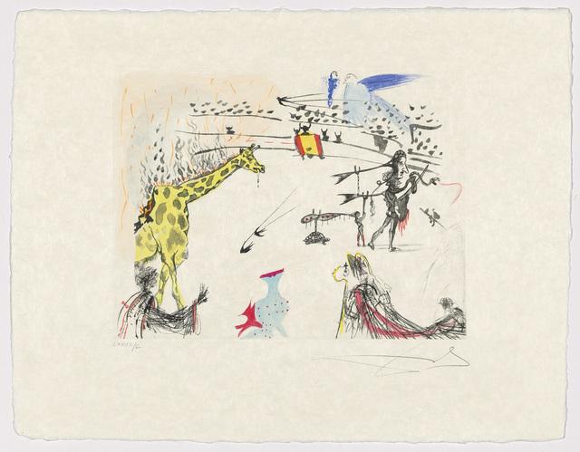 Salvador Dalí, 'Tauromachie Surréaliste', 1966-67, Print, The complete set of seven etchings and aquatints with extensive hand-colouring on Japon nacré paper, Christie's