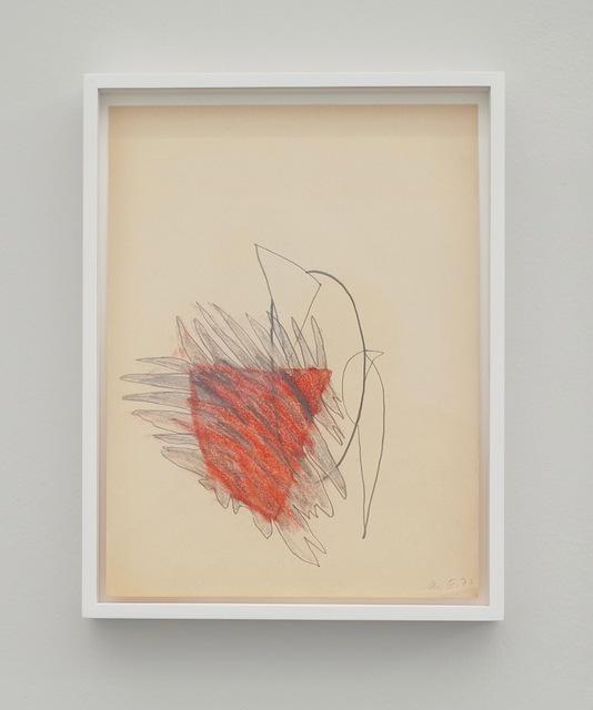 Marianne Eigenheer, 'OHNE TITEL', 1977, von Bartha
