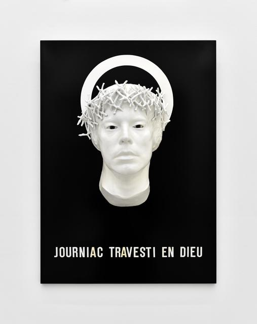 , 'Contrat de prostitution : Journiac travesti en Dieu,' 1973, Galerie Christophe Gaillard