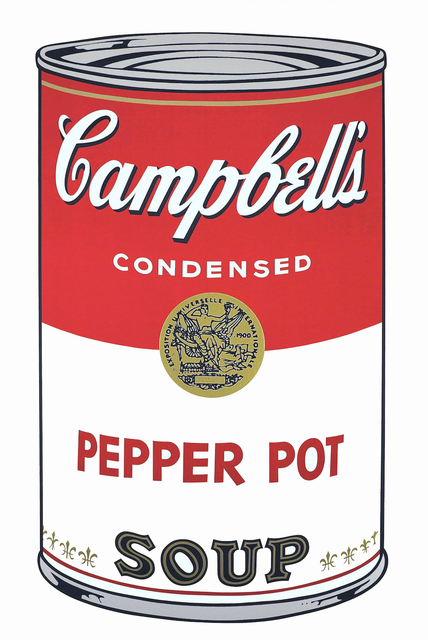 Andy Warhol, 'Campbell's Soup I (Pepper Pot)', 1968, Print, Screenprint on Paper, Collectors Contemporary