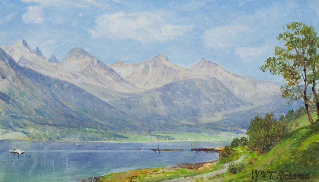 , 'Norway,' , Questroyal Fine Art