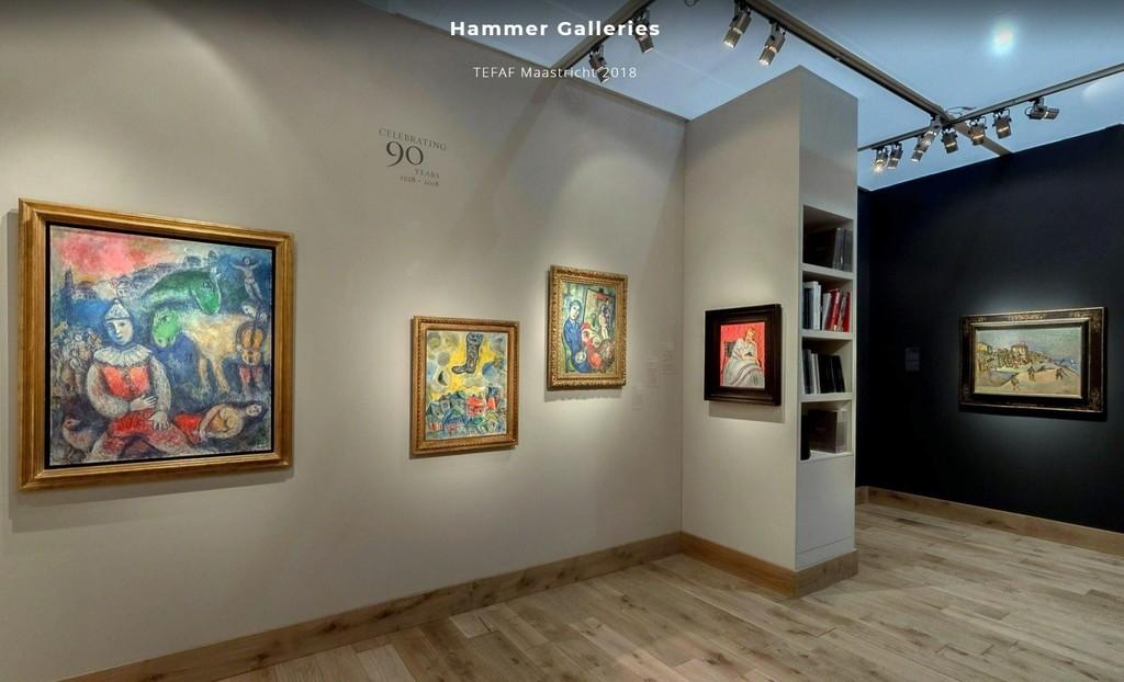 Hammer Galleries, Stand 406, TEFAF Maastricht 2018