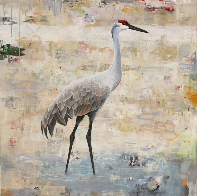 , 'Sentinel (Sandhill Crane),' 2017, Patricia Rovzar Gallery