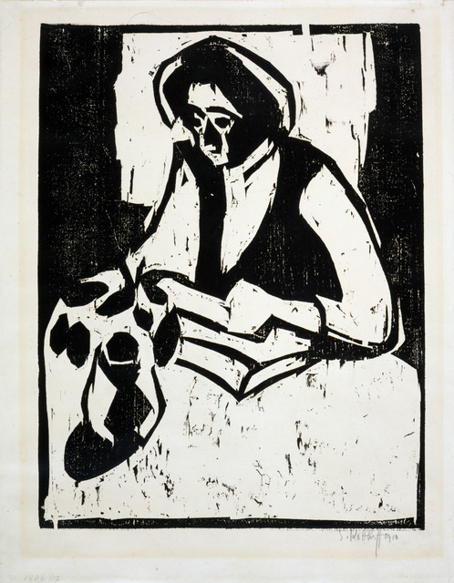 , 'Woman at the Table,' 1910, Galerie St. Etienne