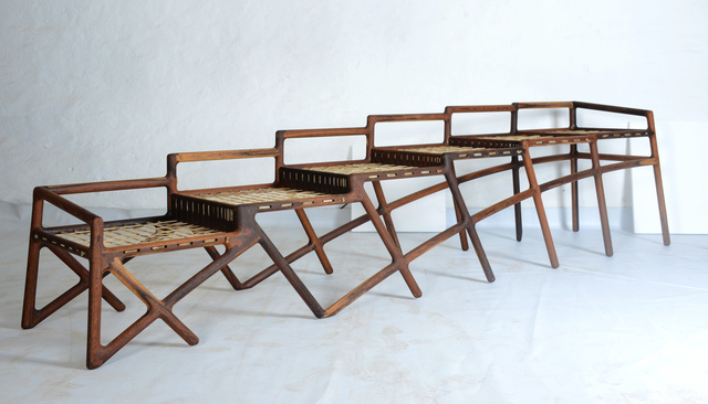 , 'Jeppestown Waiting Bench,' 2015, Southern Guild