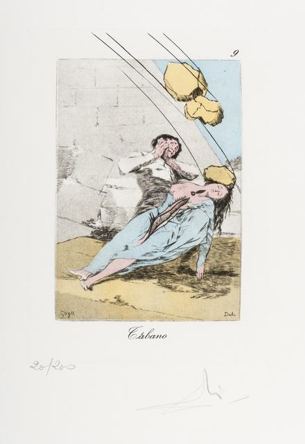 Salvador Dalí, 'Plate 9 (From Les Caprices de Goya de Dali) (M & L 856)', 1977, Forum Auctions