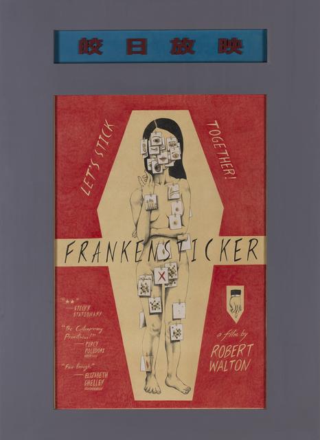 , 'Frankensticker,' 2016, Chambers Fine Art