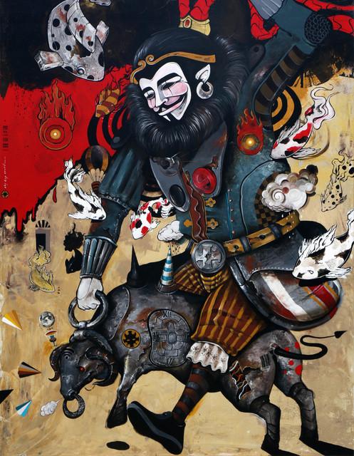 , 'Cyber Monk,' 2016, Redbase Art