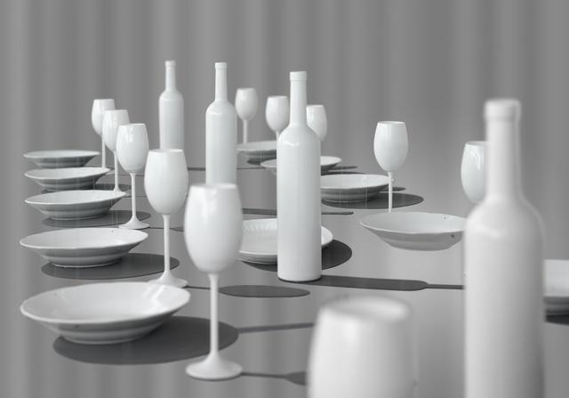 , 'Last Supper,' 2007, Galerie Kornfeld