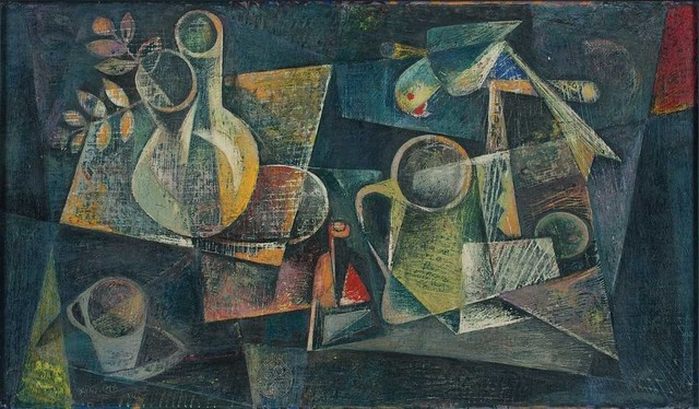, 'Still Life with Parrot,' 1955, DAG