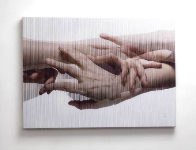 , 'Strings Hands 004,' 2014, Pontone Gallery