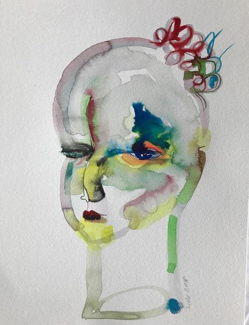 Wole Lagunju, 'Profile ', 2017, Ed Cross Fine Art