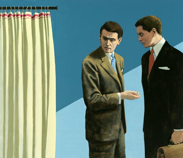 Christian Brandl, 'Das Gespräch', 2014, Galerie Kleindienst