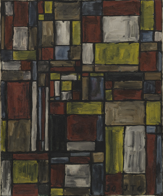 , 'Estructura en color (Color structure),' 1930, The Museum of Modern Art