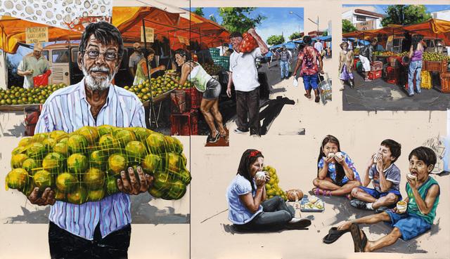, 'from series Muito pelo ao contrário: Cê gosta de laranja?,' 2013, Baró Galeria