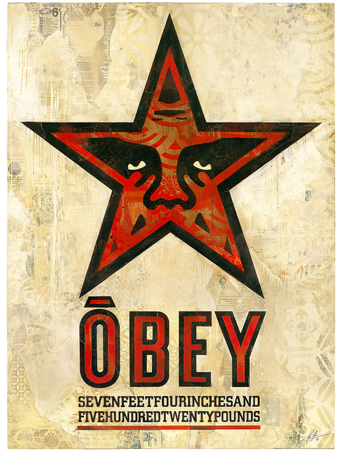 , 'OBEY Star,' 2018, Over the Influence