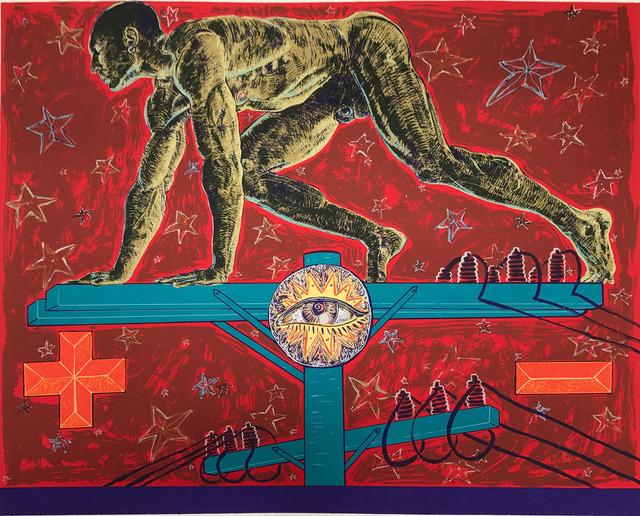, 'Tension,' 1990, Warnock Fine Arts