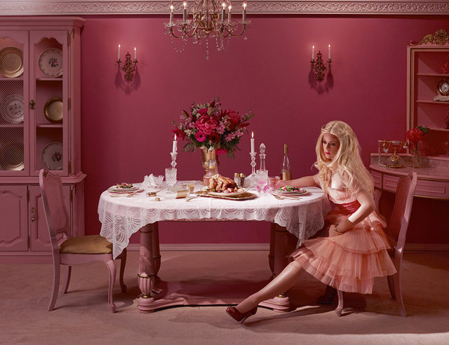 , 'Dining Alone,' 2012, Madison Gallery