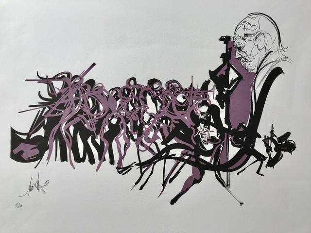 , 'Duke Ellington,' ca. 1980, ByNewArt