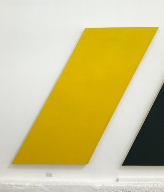 , 'Untitled (Yellow Apostrophe),' 2013, Spencer Brownstone Gallery