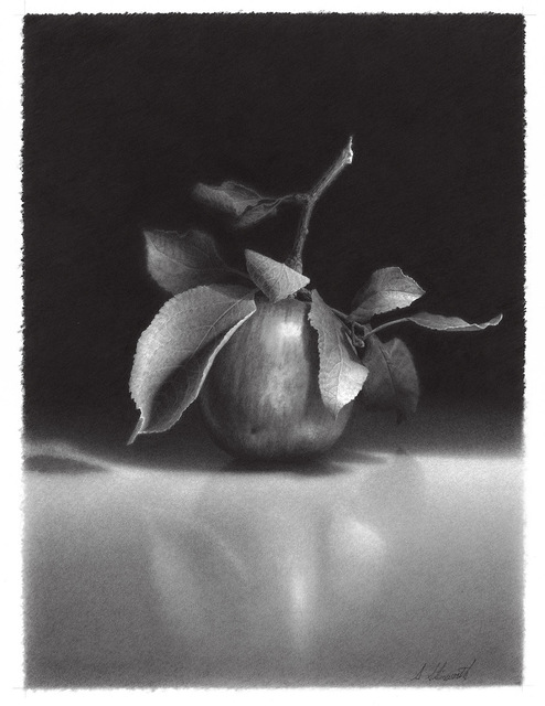 , 'Apple #8,' 2018, M.A. Doran Gallery