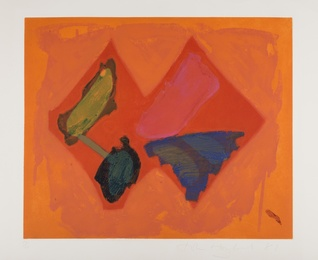 John Hoyland, 'Fly Away,' 1981, Forum Auctions: Editions and Works on Paper (March 2017)