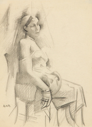 Seated Woman, c 1920