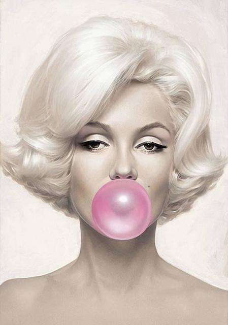 Michael Moebius, 'Marilyn Bubblegum', ArtLife Gallery